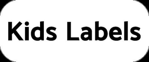 Kids Labels navnelapper logo